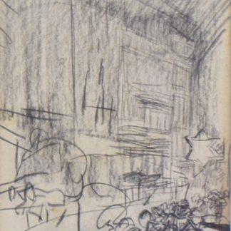 Isaac Israels: Houtskool op papier