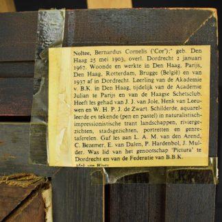 Cor Noltee: Bloemstilleven