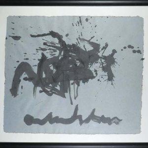 Anton Heyboer (1924-2005) abstracte compositie
